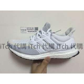 (現貨)adidas ultra boost w 米灰白 台灣未發售