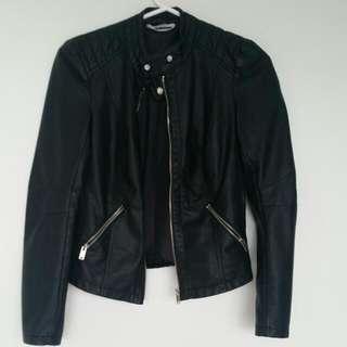Noisy May Vegan Leather Jacket SALE