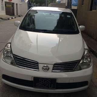 Nissan Latio For Rent Over The Weekend Friday To Monday