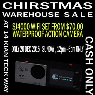 Warehouse Sale on SJ4000 & many more accessories