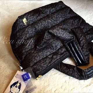 日本Rootote豹紋輕巧手提包