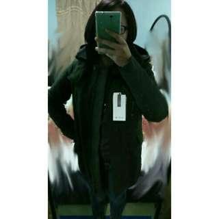 特價 關西帶回 Lacoste 外套大衣墨綠色