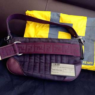 ✨FENDI正品深紫色提袋➰7成新✨