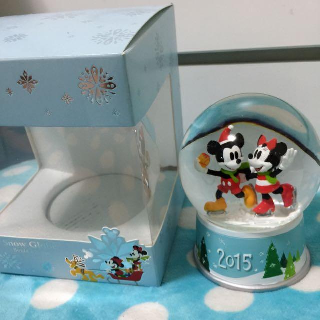 迪士尼2015聖誕節限定版水晶球