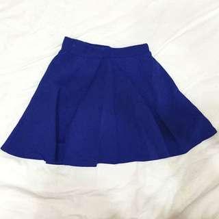 全新深藍短裙