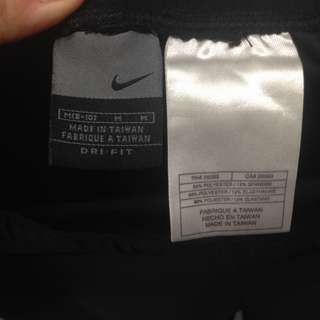 保留Nike 正品九分運動褲