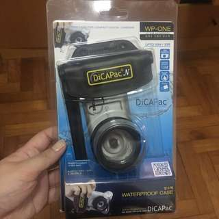 Brand New DiCAPac WP-ONE Waterproof Case For Compact Digital Camera
