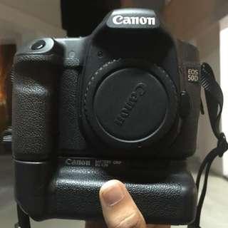 Canon EOS 50D + 50MM