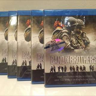 Band of Brothers Complete Set Blue Ray
