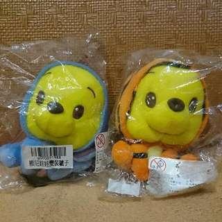 (全新)小熊維尼變裝娃娃 / 跳跳虎 /驢子 居家裝飾 嬰幼兒玩具 汽車裝飾吊飾玩偶