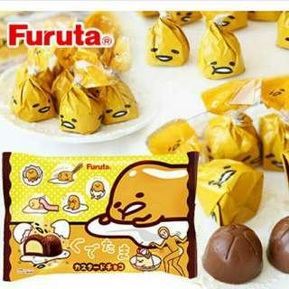日本限定-蛋黃哥卡士達巧克力