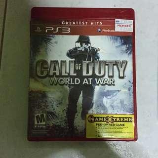 PS3 CALL OF DUTY (WORLD AT WAR)