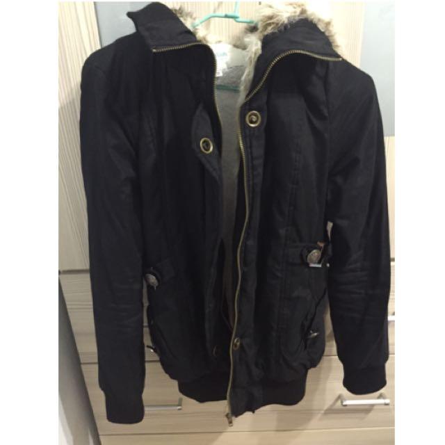 韓版超保暖毛外套