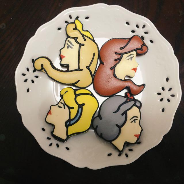 糖霜餅乾-公主系列,可當收涎餅乾