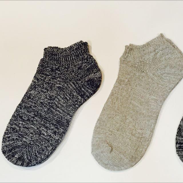 雪花襪 短襪 針織襪 男款 必備 潮流余文樂同款