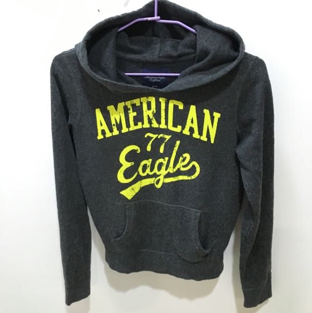 American Eagle 灰色帽T  (2手)