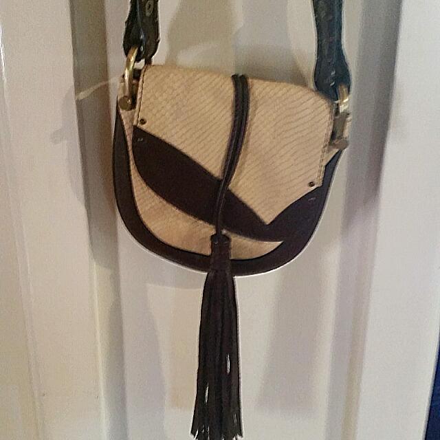 Authentic Vintage Mimco Snake Shoulder Handbag
