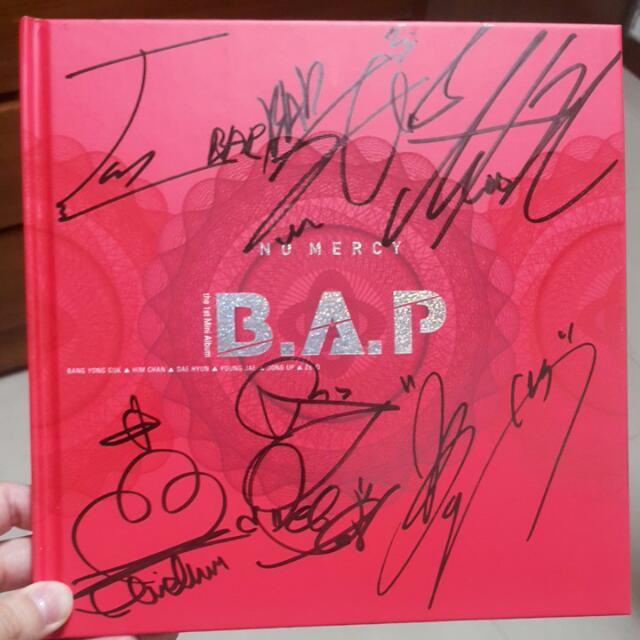 B.A.P No Mercy官方親簽專輯