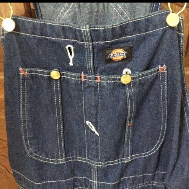 Dickies 吊帶褲 復古 古著 二手 牛仔 單寧 工作 含運!