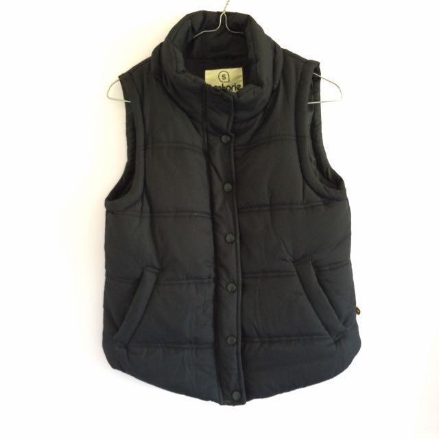 Factorie Black Vest