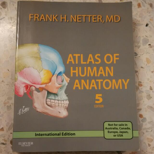 Frank H  Netter's Atlas Of Human Anatomy (5th Edition