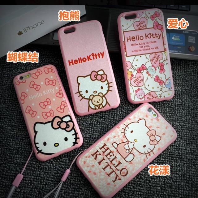 Hellokitty Iphone6手機殼