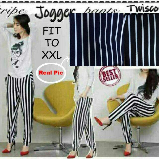 Jogger Stripe Jumbo New