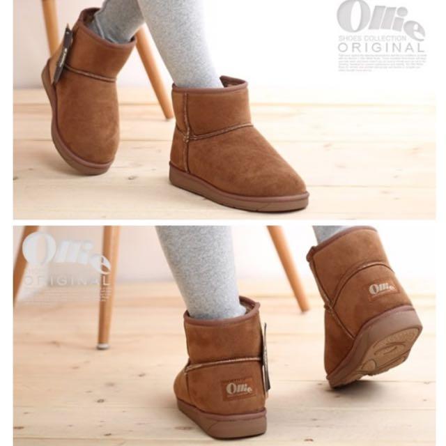 (保留中)Ollie雪靴(駝色)