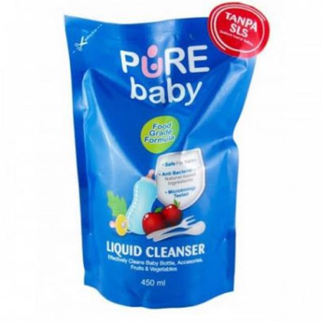 Pure Baby Liquid Cleanser 450mL