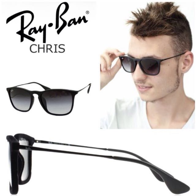 7fc0268683 Rayban chris velvet mens fashion on carousell jpg 640x640 Ray ban chris