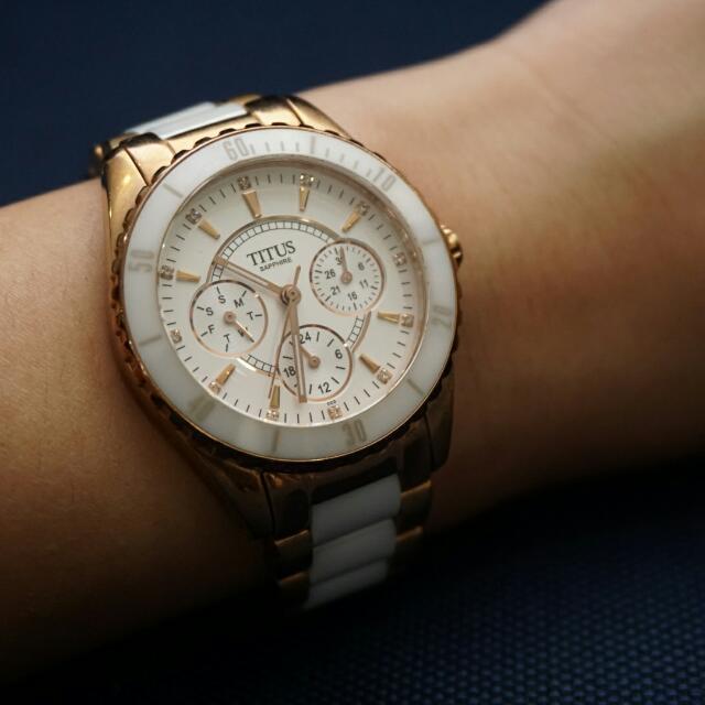 SOLVIL ET TITUS Ladies' Ceramic Watch, Everything Else on ...
