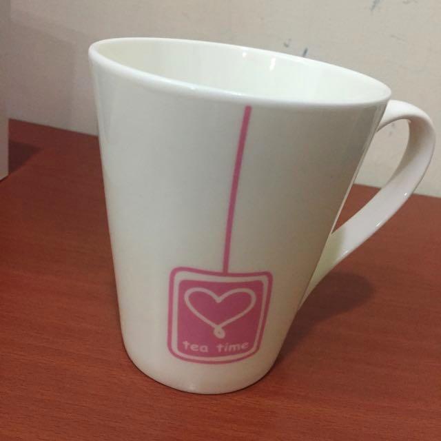 Tea Time 粉紅馬克杯