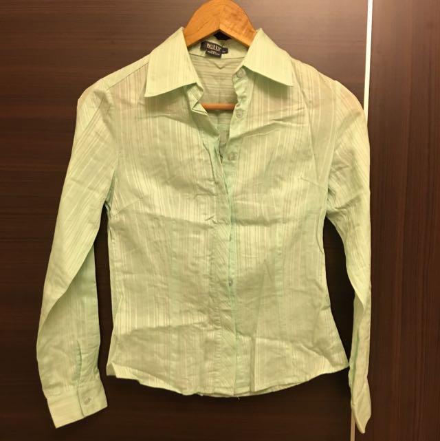 Wanko 綠色襯衫 (34號)