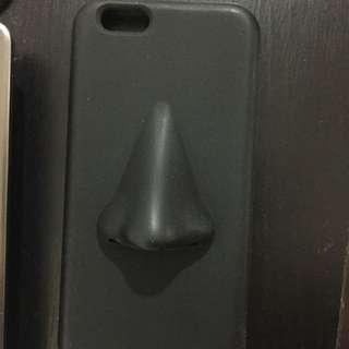 Iphone6大鼻子手機殼