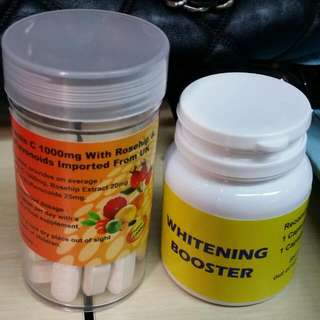 Vitamin C Roseship Imported UK + Whitening Booster