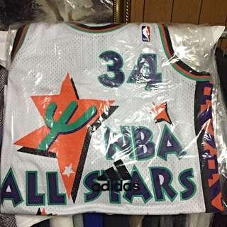 NBA All Star 歐拉朱萬 全明星賽球衣