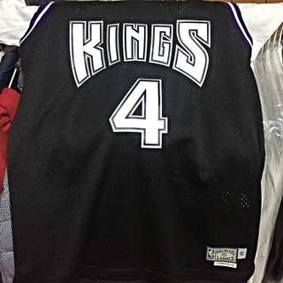 NBA 國王隊 Webber 復古版球衣