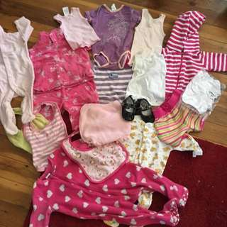 Size 0 Baby Bulk Clothes