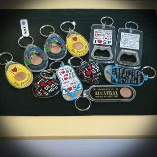 US Keychain - World Souvenir
