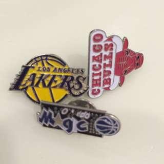 NBA Lapel Pin