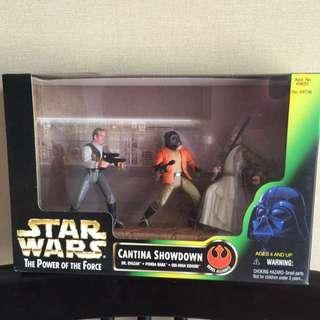 Star Wars POTF Cantina Showdown