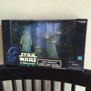 Star Wars POTF Jedi Spirits