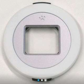 【已徵到】X-cap Lumix14-42mm專用,白色自動鏡頭蓋