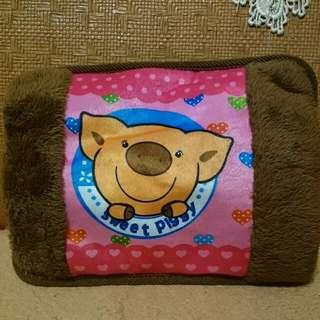 (全新)小豬充電式電暖袋暖手寶抱枕 內層雙面絨布 寒冬必備