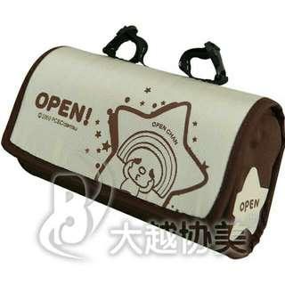 全新 open自行車坐墊袋 化妝包(原價400)