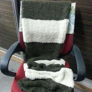 Handmade Knitted Scarfs/Baby Blanket