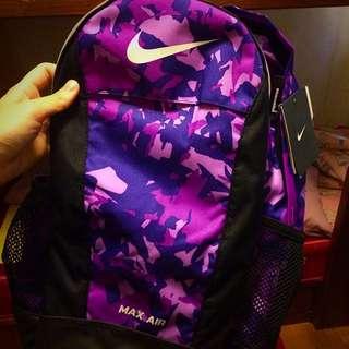 全新NIKE 後背包 紫色迷彩款