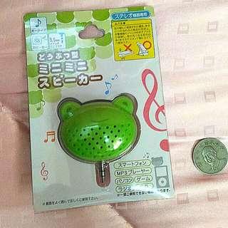 日本大創青蛙擴音小喇叭