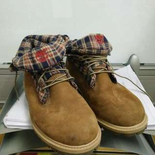 Timberland Norse Flannel Roll Top Boots EU39
