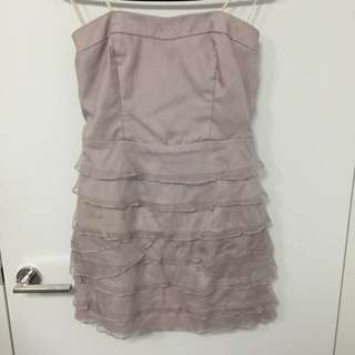 Strapless Portmans Dress